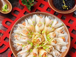 春节吉祥菜——花开富贵百财牛肉卷,花样美食,打造精致的餐桌