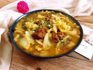 牛肉大白菜粉丝,汤汤水水最适合冬天吃啦!