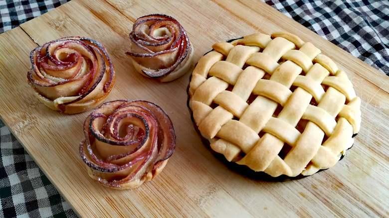 苹果派&苹果玫瑰卷
