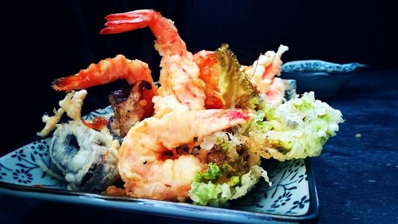 日式美食~什锦天妇罗