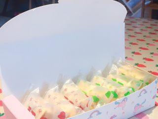 网红雪花酥,包上喜欢的包装盒