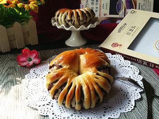 豆沙花瓣面包,好看又好吃的面包来咯