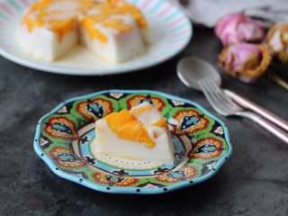 芒果椰奶冻,口感Q弹的芒果椰奶冻