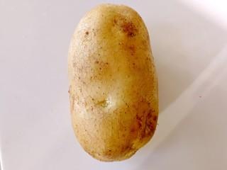 甜味土豆芝士球,土豆洗干净备用