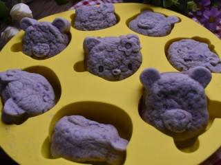 紫薯米糕(宝宝辅食),然后中火蒸20分钟即可