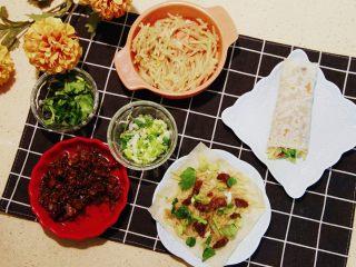 春饼卷土豆丝,打春这一天吃,是最应景的。春天来了,佳儿祝福大家,春节快乐,打春快乐,吃饼快乐!!88,下个菜谱见。