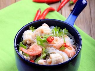 过年菜----泰式海鲜沙拉