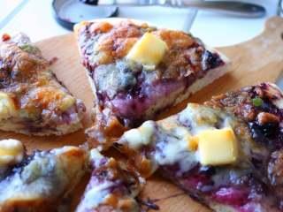 蓝莓酱薄底披萨|在家自己做胜过必胜客