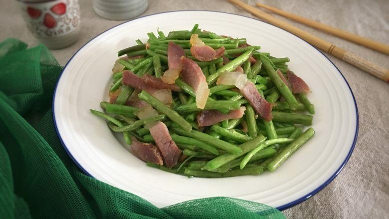 芦蒿炒咸肉