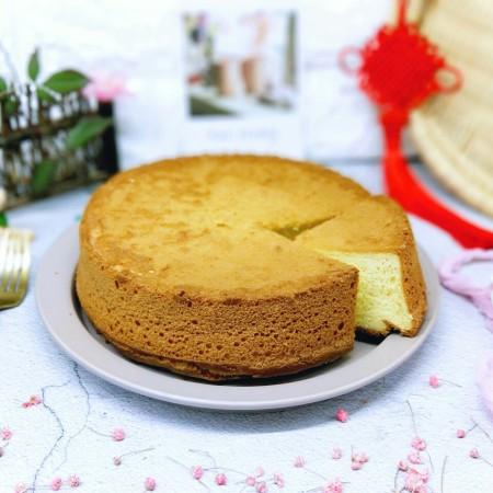 春节家宴饭后甜点#橙汁戚风蛋糕#