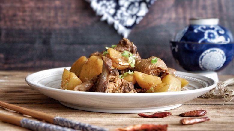 超级下饭,土豆香辣鸡架
