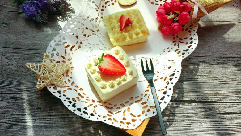 迷你草莓奶油蛋糕