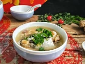 年年有余滋补牛肝菌鱼头汤