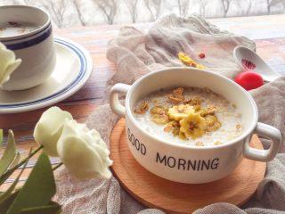 辅食10M➕:香蕉牛奶燕麦粥