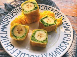 辅食10M➕ 香蕉牛油果吐司卷,妈妈可以和宝宝一起享用哦