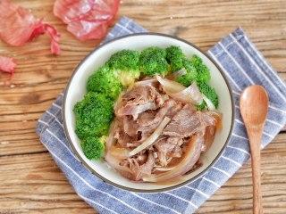 吉野家牛肉饭(牛丼)
