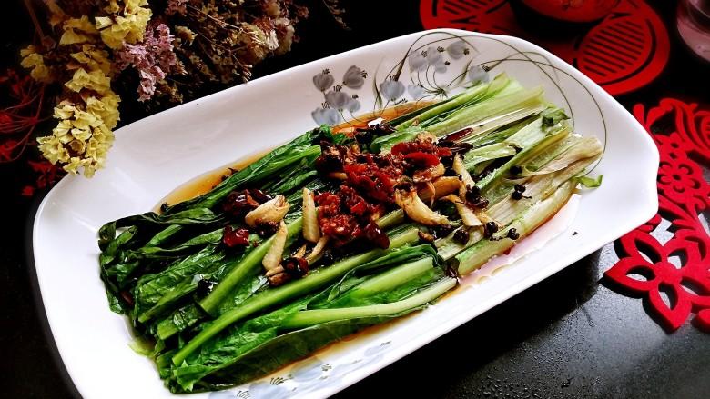 响油油麦菜,美味上桌