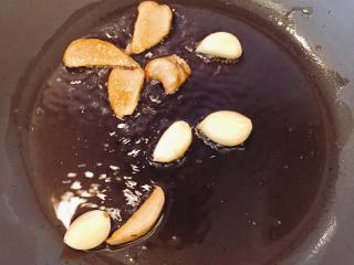 蚝汁杏鲍菇,蒜头