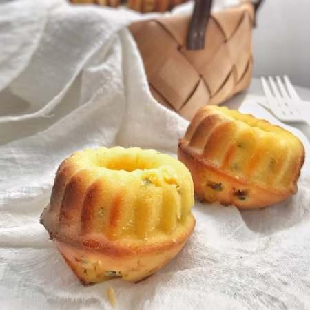 百香果小蛋糕