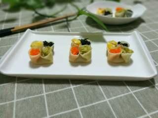 四喜蒸饺,成品图