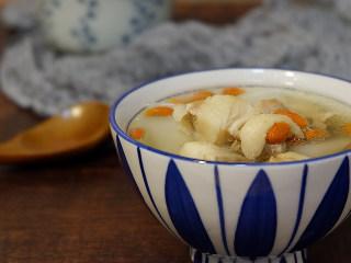 枸杞萝卜羊肉汤,成品图~