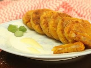 芋泥柿饼,成品图~