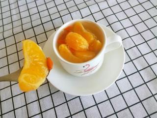 糖水桔子,来个特写,酸酸甜甜的。