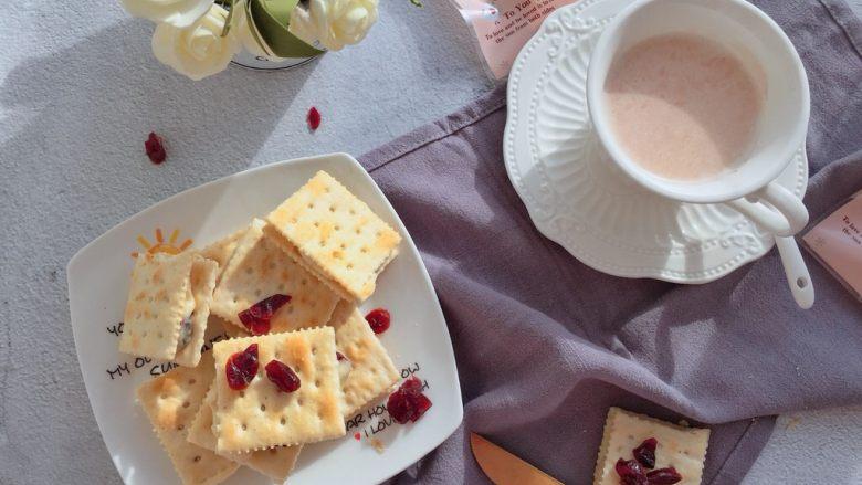 蔓越莓牛扎饼,成品图1