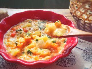 宝宝辅食9M➕:蔬菜面疙瘩汤
