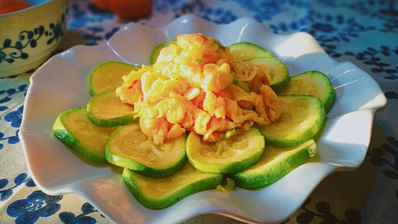 清淡素菜~西葫芦炒鸡蛋
