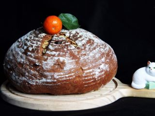 粗粮健康面包,完美造型的面包就出来了。