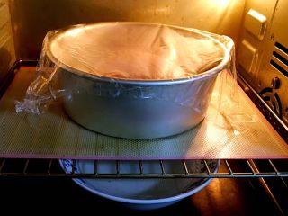 粗粮健康面包,烤箱发酵档,底部放热水,发酵时间60分钟。30分钟更换一碗热水。
