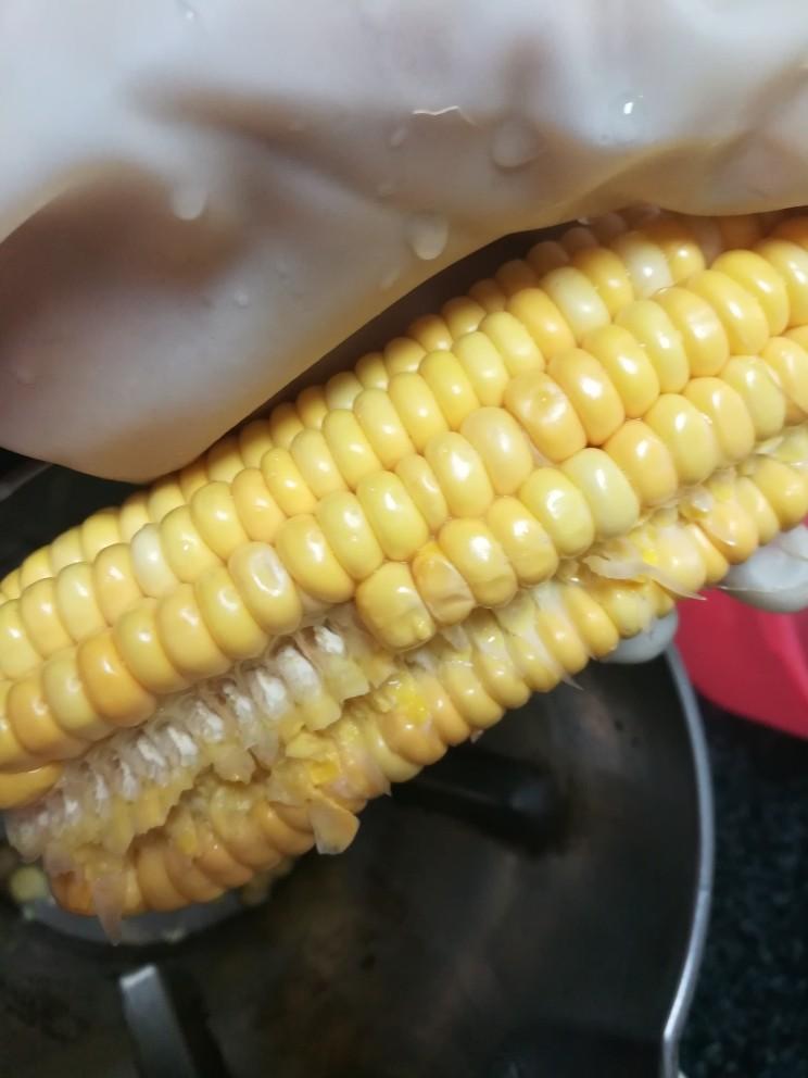 """香喷喷的玉米浓浆,就是这""""路""""。"""