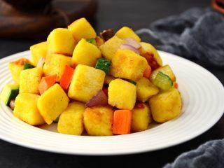蔬菜馒头丁