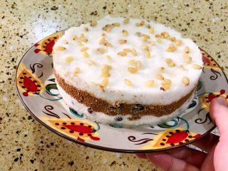 白糖松糕&红糖松糕,把模具取走、松糕就取出来了