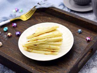 天津特色小吃 蔬菜烩饼,自制大饼1张,自制大饼的方子请参考我的另外一个菜谱#烙大饼#。