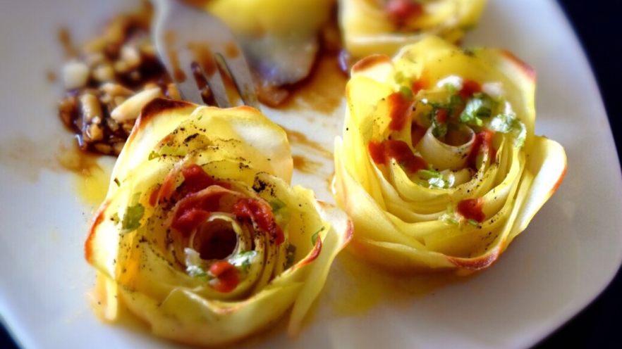 黑胡椒土豆玫瑰卷