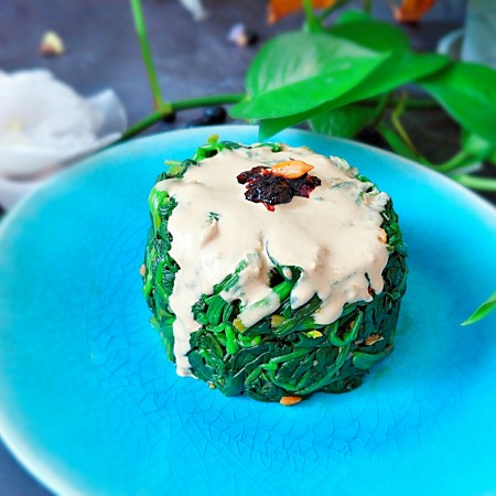 健康饮食之酱汁翠绿顶
