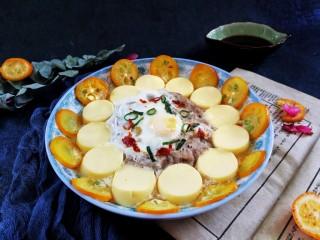 桔香豆腐蒸牛肉沫