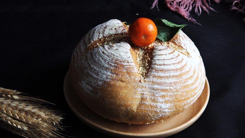 乡村面包+无油无糖版