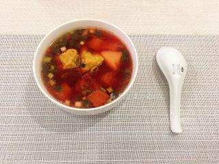 甜菜根排骨汤,营养又补血的汤品完成了!!