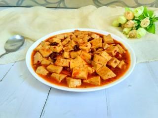 麻婆豆腐,成品图