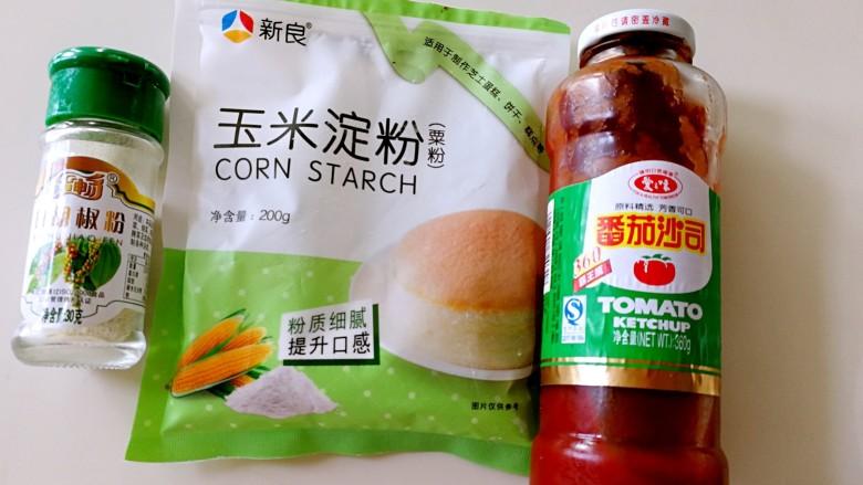 番茄豆腐巴沙鱼~让孩子爱上吃饭,这是辅料