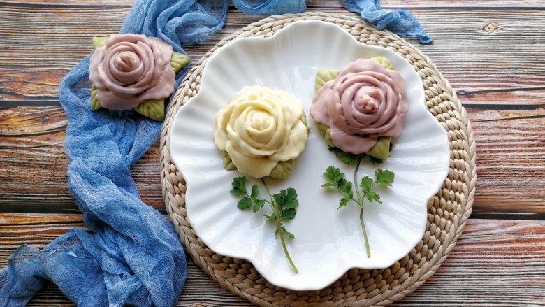 花开富贵—花朵馒头