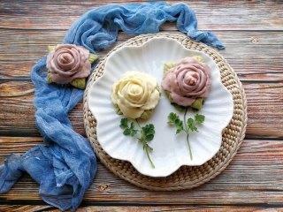 花开富贵—花朵馒头, 成品