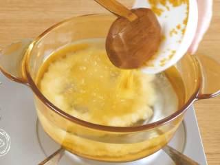 米汤胡萝卜泥6m+宝宝辅食,首先,小米凉水下锅~