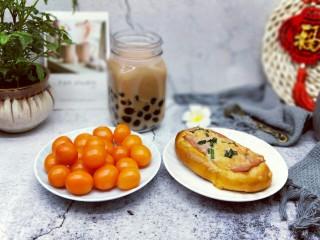 香葱培根芝士面包,下午茶时间啦~
