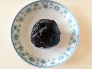 伪蛋黄酥~红薯豆沙球,这是炒好的豆沙馅