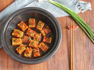 酿豆腐,出锅