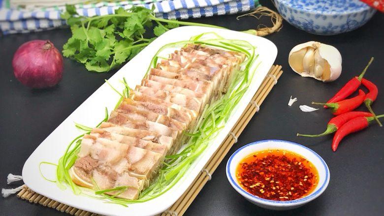 家乡食谱~猪头肉